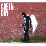 Green Day Boulevard Of Broken Dreams UK CD single Promo