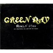 Green Day Brain Stew UK CD single Promo