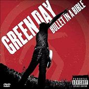 Green Day Bullet In A Bible UK 2-disc CD/DVD set