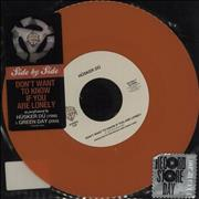 """Green Day Don't Want To Know If You Are Lonely - RSD Netherlands 7"""" vinyl"""