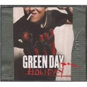 Green Day Holiday - CD1 UK CD single