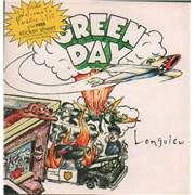 "Green Day Longview UK 7"" vinyl"