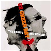 """Green Day The Saints Are Coming UK 7"""" vinyl"""
