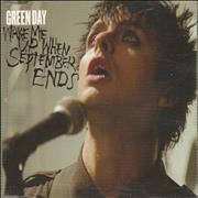 Click here for more info about 'Green Day - Wake Me Up When September Ends'