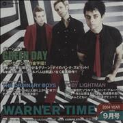 Click here for more info about 'Green Day - Warner Time'