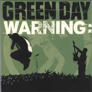 Click here for more info about 'Green Day - Warning - Yellow Vinyl'