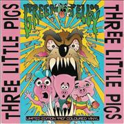 Click here for more info about 'Green Jelly - Three Little Pigs - Pink Vinyl'