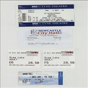 Click here for more info about 'Greg Lake - Five Ticket Stubs'