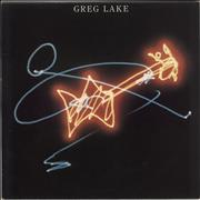 Click here for more info about 'Greg Lake - Greg Lake - Gold Promo Stamped'