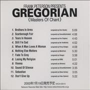 Click here for more info about 'Gregorian - Masters Of Chant'