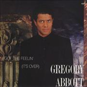 Click here for more info about 'Gregory Abbott - I Got The Feelin' (It's Over)'