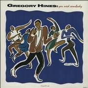Click here for more info about 'Gregory Hines - You Need Somebody'
