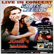 Click here for more info about 'Gretchen Wilson - Live In Concert - Autographed'