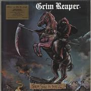 Click here for more info about 'Grim Reaper - See You In Hell - 180gram Flaming Vinyl + Numbered'