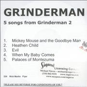 Click here for more info about 'Grinderman - 5 Songs From Grinderman 2'
