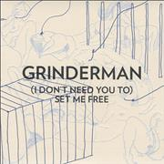 "Grinderman [I Don't Need You To] Set Me Free UK 7"" vinyl"