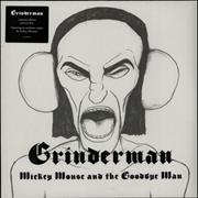 "Grinderman Mickey Mouse & The Goodbye Man UK 12"" picture disc"