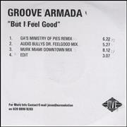 Click here for more info about 'Groove Armada - But I Feel Good'