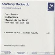 Click here for more info about 'Guillemots - Annie Lets Not Wait - Adam Noble Radio Mix'