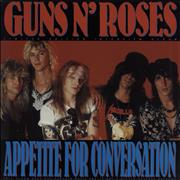 Click here for more info about 'Guns N Roses - Appetite For Conversation - Blue Vinyl'