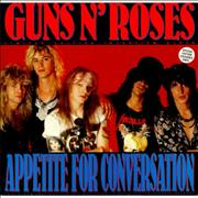 Click here for more info about 'Guns N Roses - Appetite For Conversation - Clear Vinyl'