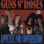 Click here for more info about 'Guns N Roses - Appetite For Conversation - Green Vinyl'