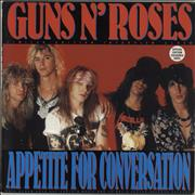 Click here for more info about 'Guns N Roses - Appetite For Conversation - White Vinyl'