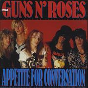Click here for more info about 'Guns N Roses - Appetite For Conversation - Yellow Vinyl'