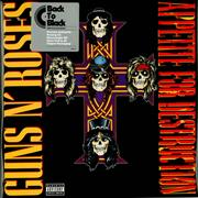 Click here for more info about 'Guns N Roses - Appetite For Destruction - 180gm in PVC'