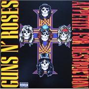 Guns N Roses Appetite For Destruction - 180g Sealed UK vinyl LP
