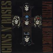 Click here for more info about 'Guns N Roses - Appetite For Destruction - 180gm + Hologroove Hologram'