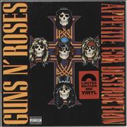Click here for more info about 'Guns N Roses - Appetite For Destruction - Red Vinyl - Sealed'