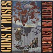 Click here for more info about 'Guns N Roses - Appetite For Destruction - 1st'