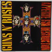 Click here for more info about 'Guns N Roses - Appetite For Destruction - Sealed CD'