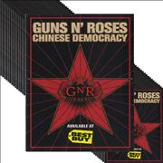 Click here for more info about 'Guns N Roses - Best Buy Chinese Democracy Promotional Stickers'