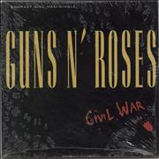 Click here for more info about 'Guns N Roses - Civil War - Sealed'