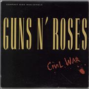 Click here for more info about 'Guns N Roses - Civil War'