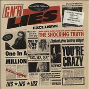 Click here for more info about 'Guns N Roses - GN'R Lies + Bandana'
