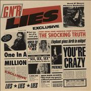Click here for more info about 'Guns N Roses - GN'R Lies - EX'