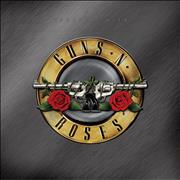 Click here for more info about 'Guns N Roses - Greatest Hits - Gold with White & Red Splatter - Sealed'