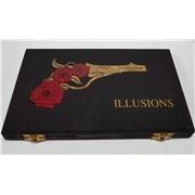 Guns N Roses Illusions UK cd album box set Promo