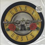"Guns N Roses It's So Easy UK 12"" picture disc"