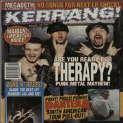 Click here for more info about 'Kerrang! Magazine - Kerrang! Magazine - Jan 94'