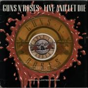 Click here for more info about 'Guns N Roses - Live And Let Die - Orange - EX'
