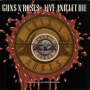Click here for more info about 'Guns N Roses - Live And Let Die - Orange Vinyl'