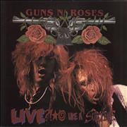 """Guns N Roses Live Like A Suicide EP USA 12"""" vinyl"""