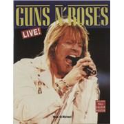 Guns N Roses Live! UK book