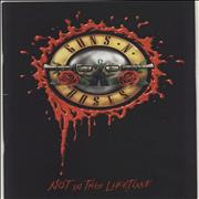 Click here for more info about 'Guns N Roses - Not In This Lifetime + Ticket Stub'