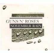 Guns N Roses November Rain Germany CD single