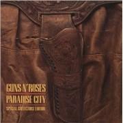 """Guns N Roses Paradise City UK 7"""" vinyl"""
